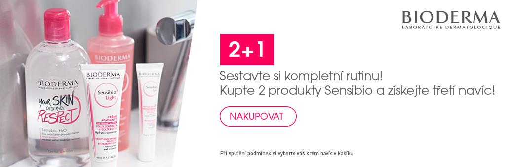 Bioderma Sensibio 2+1 Zdarma