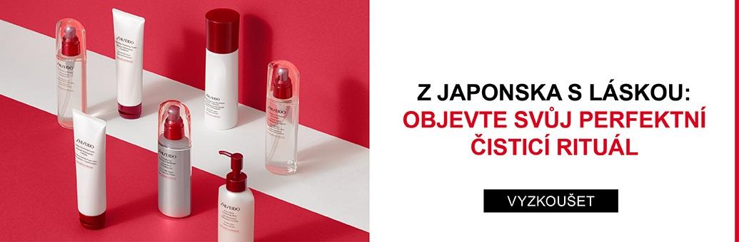 Shiseido čištění pleti