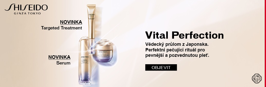 Shiseido News Vital Perfection
