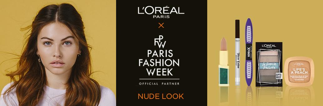 Loreal Paris nude look