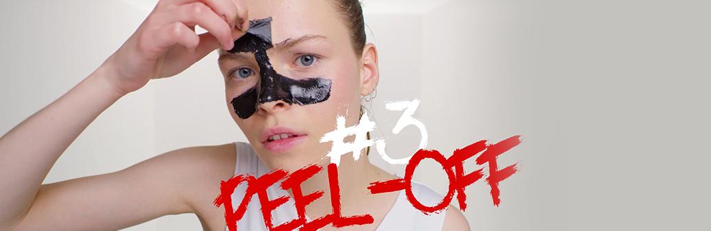 Garnier Skin Peel off mask step 3