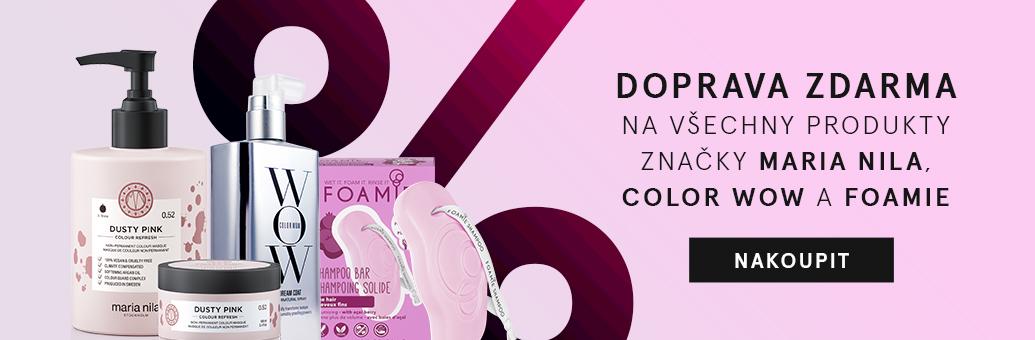W14 Doprava zdarma Maria Nila, Color WOW, Foamie