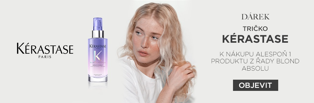 W2 Kérastase tričko GWP Blond Absolu