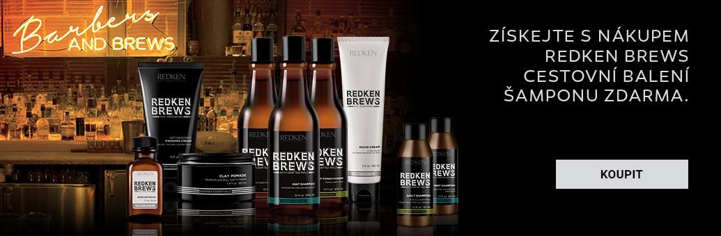 W9 Redken Brews dárek šampon