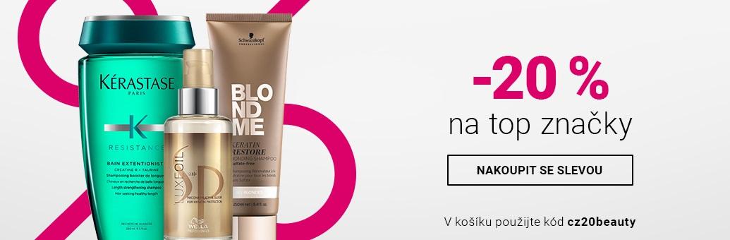 W4 Sleva -20% Hair Care