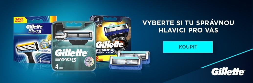 Gillette náhradní hlavice