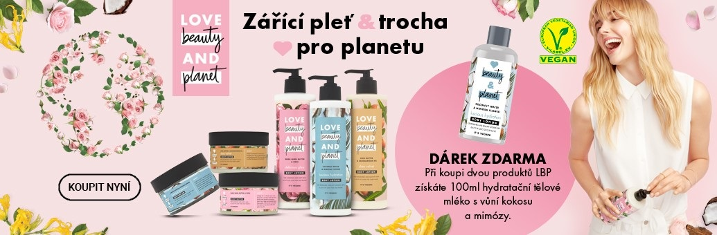 Love Beauty&Planet dárek k nákupu