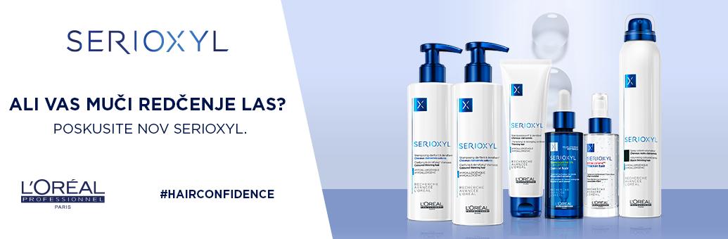 SERIOXYL trápí vás vypadávaní vlasu