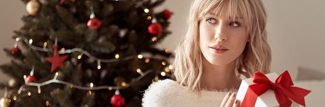 Коледен календар с козметика