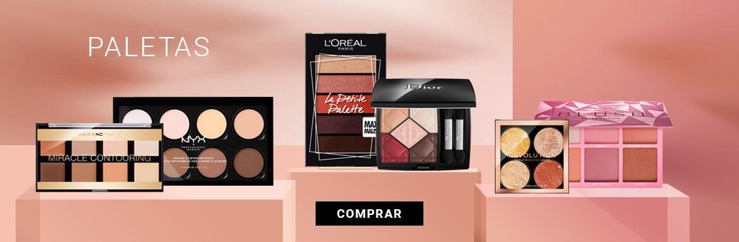 paletas de maquillaje