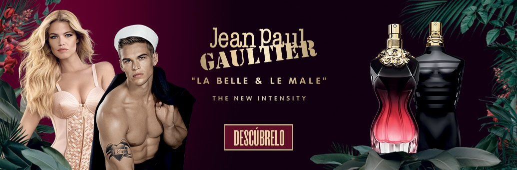 Jean Paul Gaultier La Belle Le Parfum and Le Male Le Parfum