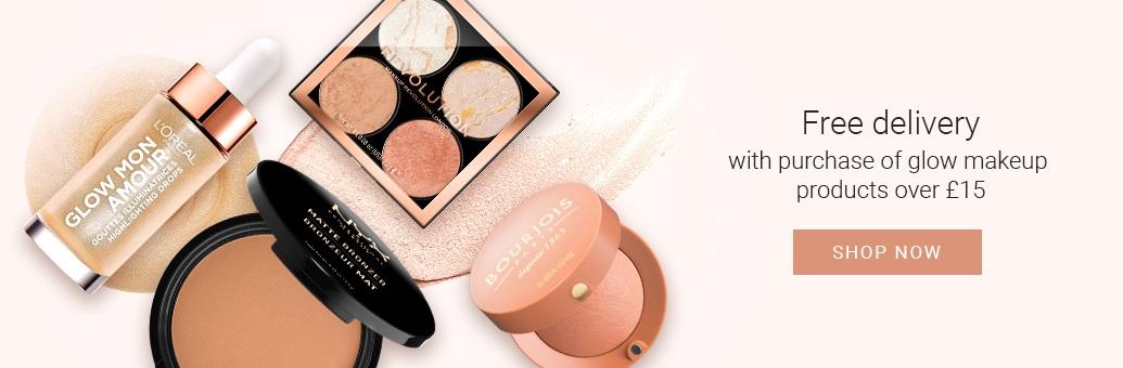 Glow makeup promo