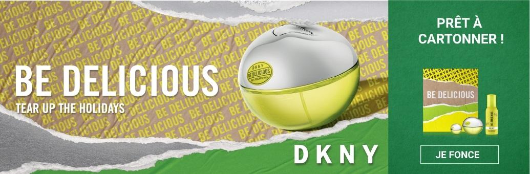 DKNY vanoční banner