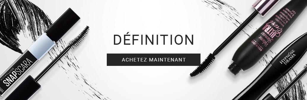 mascara définition