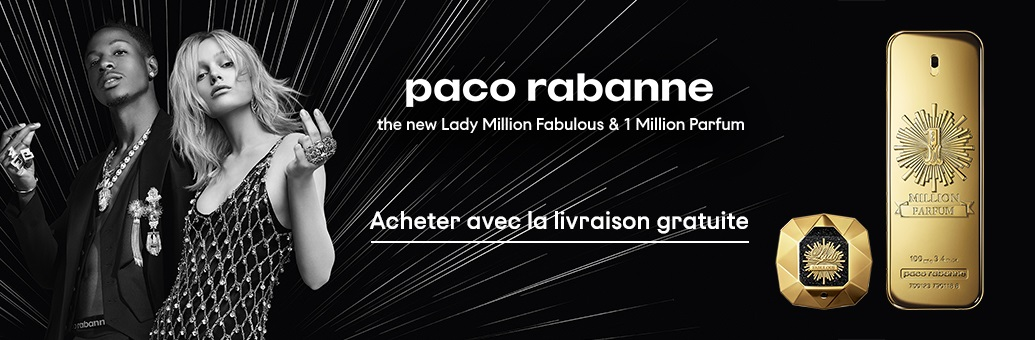 Paco Rabanne Lady Million Fabulous delivery