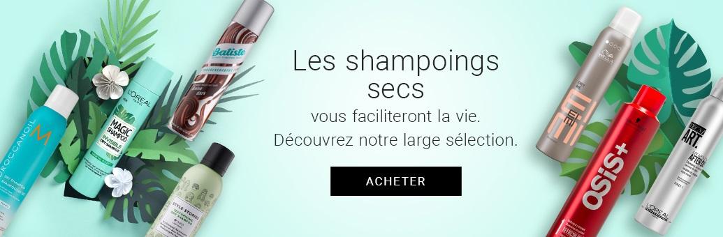 CP Suché šampony