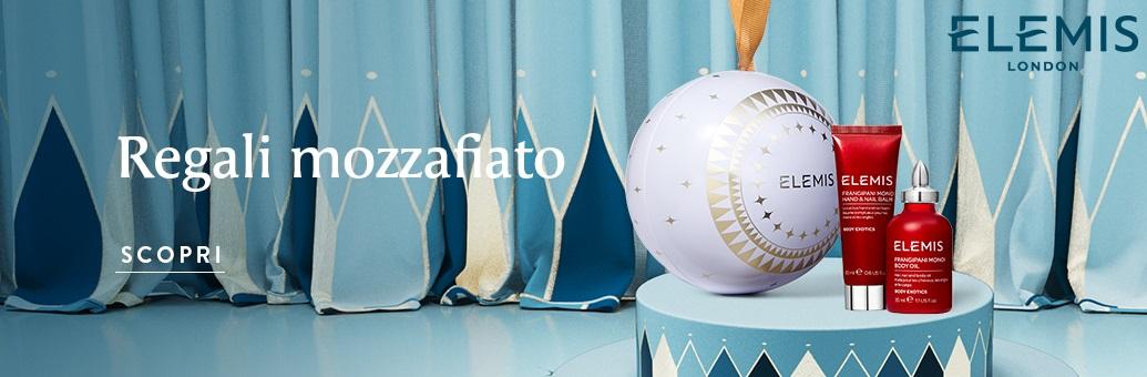 Elemis vánoční banner 2020 Body Exotics