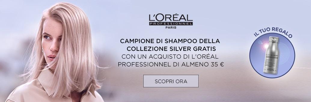 W33 Loreal Pro Silver Shampoo GWP 35e