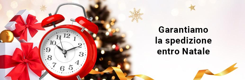 Spedizone per Natale garantita