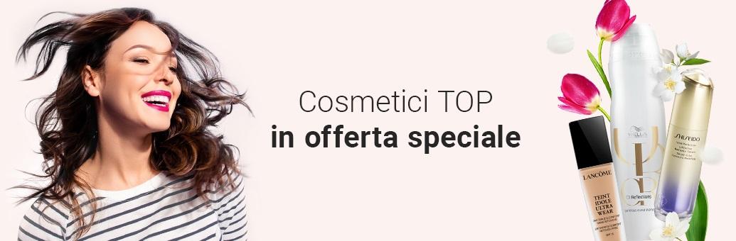 Prodotti cosmetici TOP in offerta speciale