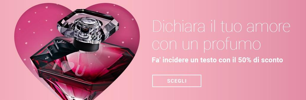 Il nostro regalo di San Valentino per te: Un rossetto a prova di bacio gratis se il tuo ordine supera i 39 €