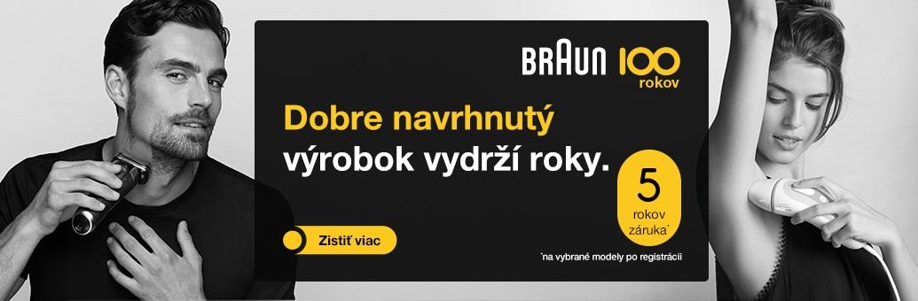 Braun 100 let