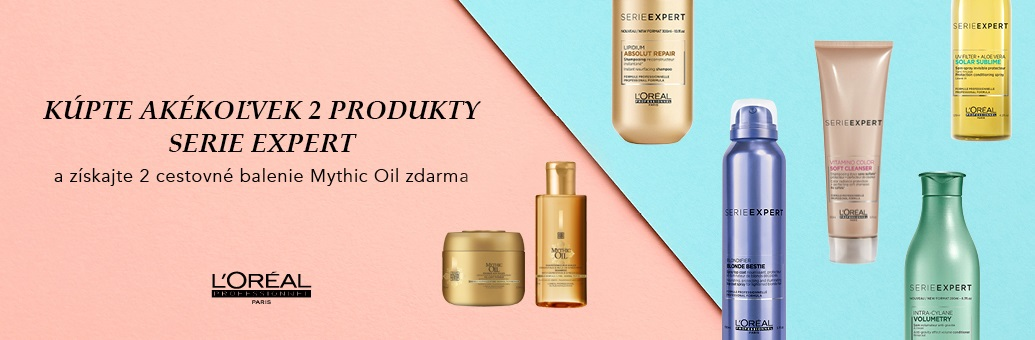 L'Oréal Professionnel W42 Mythic Oil travel sizes zdarma
