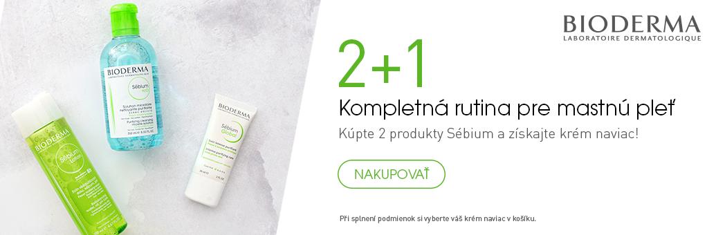 Bioderma Sebium W7 2+1 Zdarma