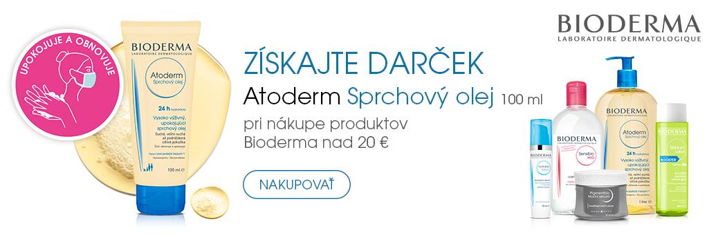 Bioderma W45 GWP Atoderm Sprchový Olej 100ml nad 490,-