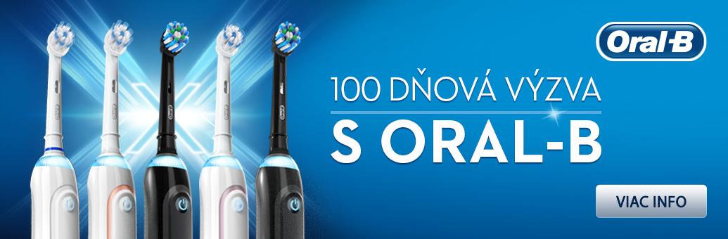 Oral B 100 denní výzva