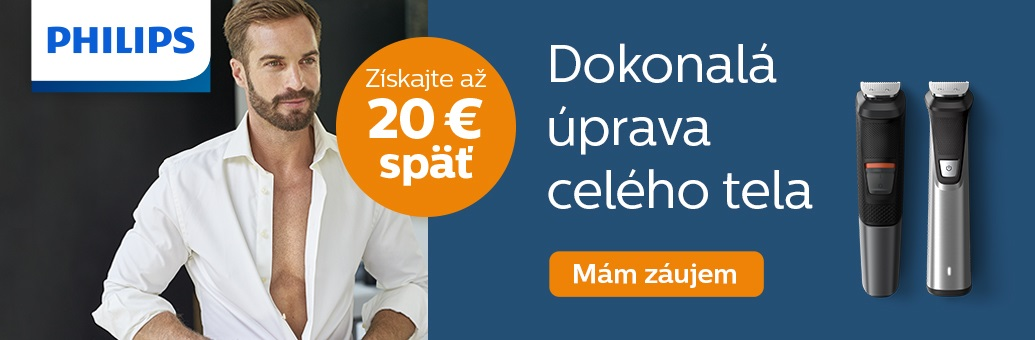 Philips Cash Back Zastrihovace