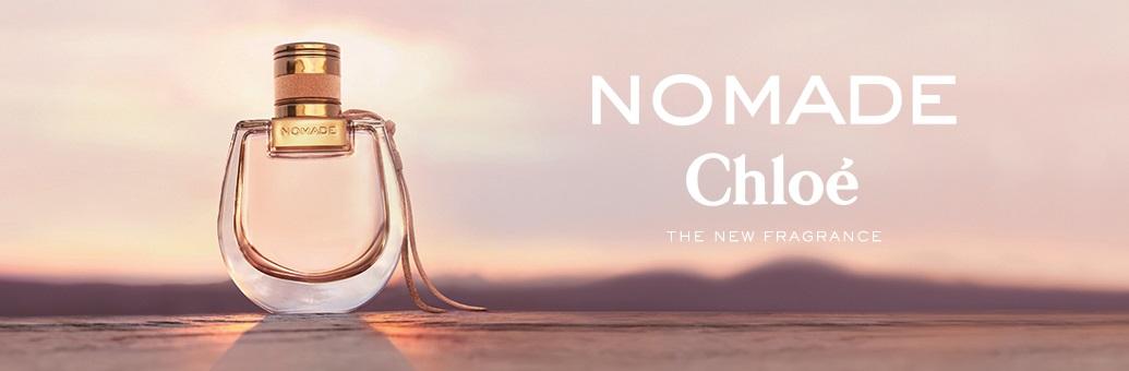Chloe Nomade landing page 1