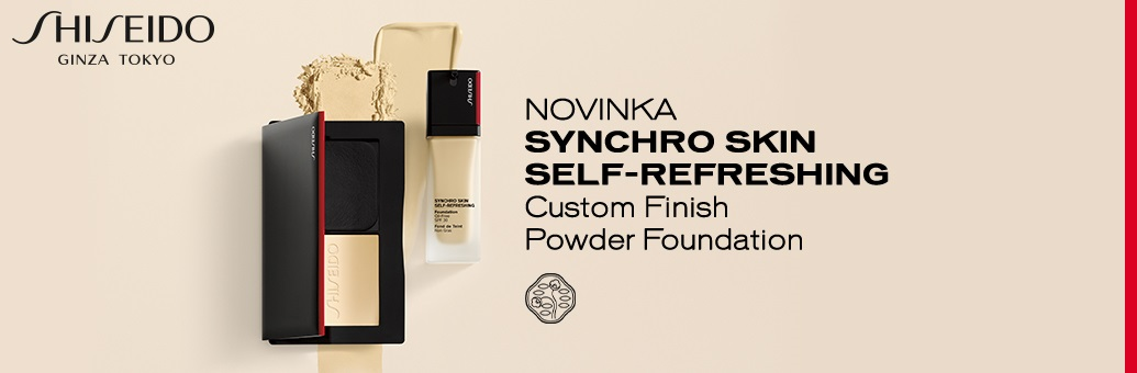 Shiseido Synchro Skin Self-Refreshing Custom Finish Powder Foundation