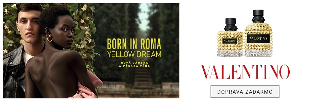 Valentino Born in Roma Yellow Dream