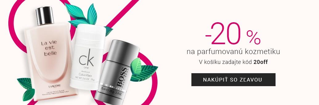 Parfémovaná kosmetika akce
