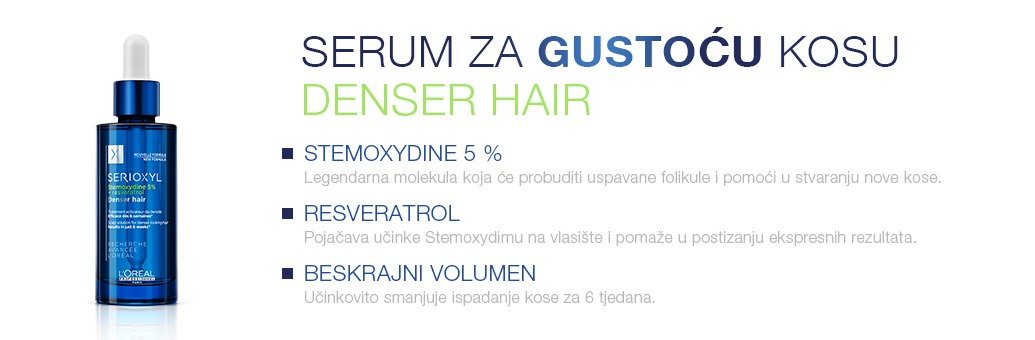 serioxyl about denser hair serum