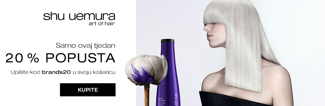 W18 Shu Uemura Brand Sale 20%