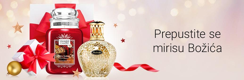 Božićne svijeće i mirisi za dom
