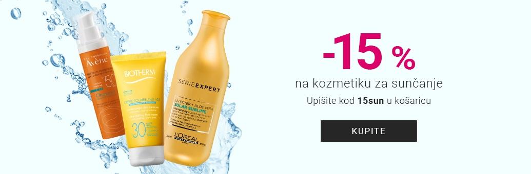 W33 - 15% na Sluneční kosmetiku