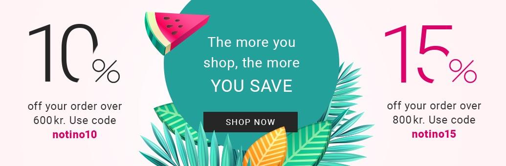 10% 15% save