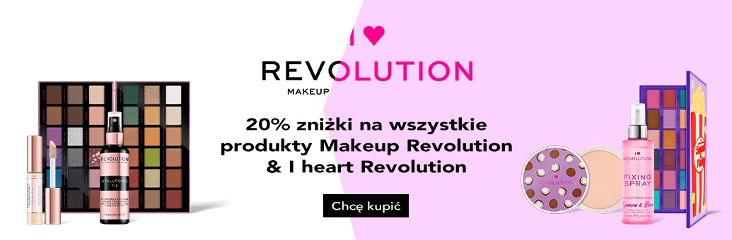 Makeup Revolution & I heart Revolution znižky
