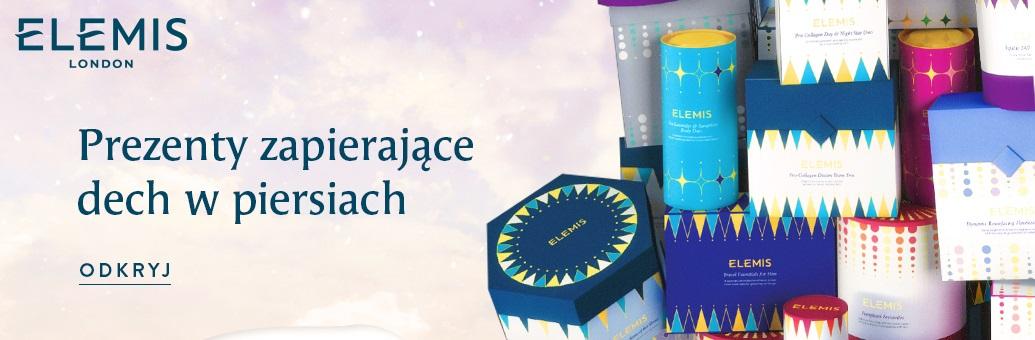 Vánoční banner Elemis 2020 sety