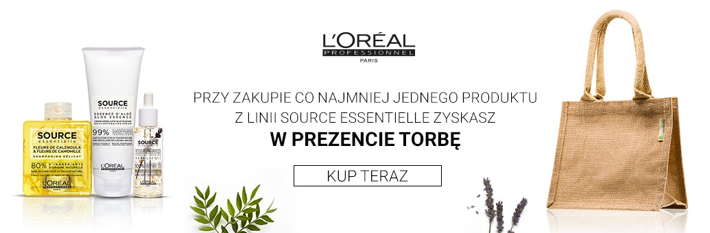 W15 Loreal Pro Source Essentielle bag GWP
