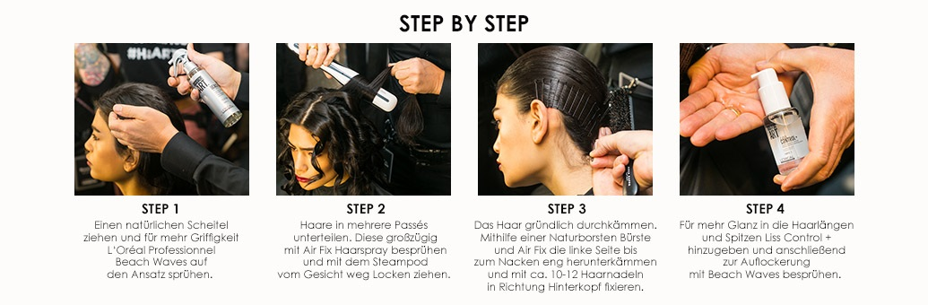 Loreal Pro summer styles Beach waves 2 how to