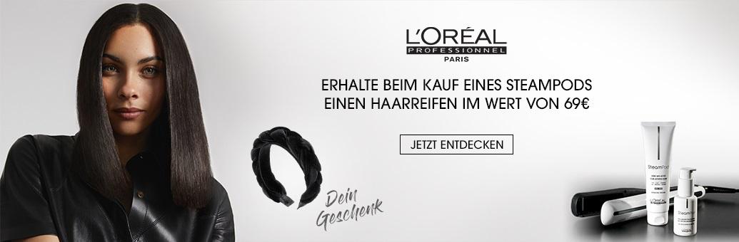 W36 Loreal Pro Headband GWP Steampod 69e