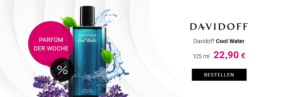 Davidoff Cool Water Eau de Toilette für Herren