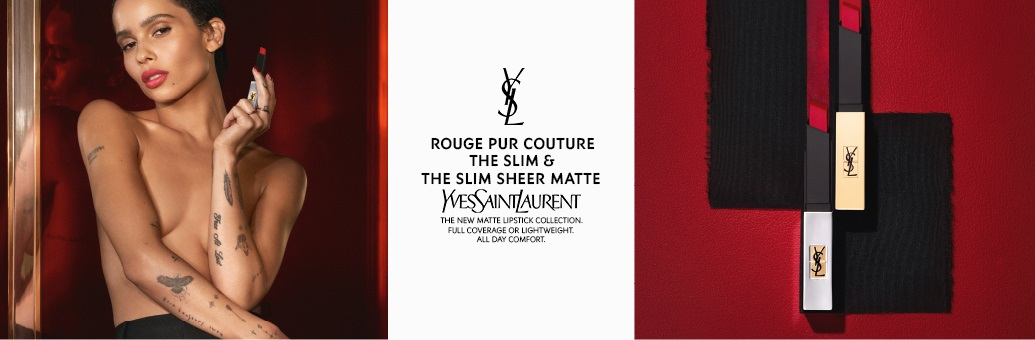 Yves Saint Laurent rouge pur couture slim sheer matte