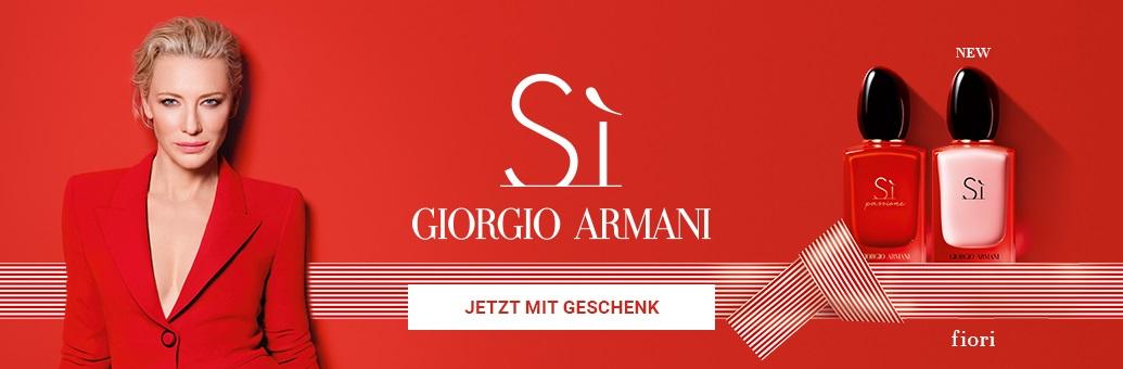 Armani Si Range Promotion