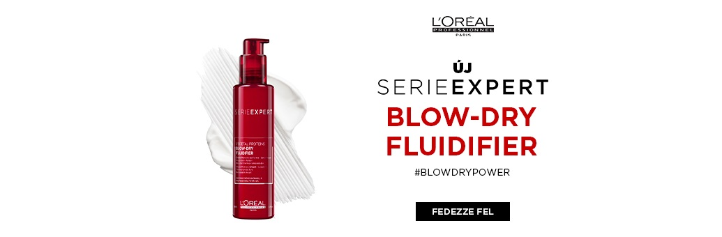 Loreal Pro Blow Dry Fluidifier CTA 2021