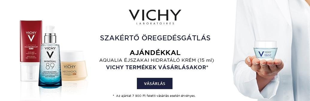 Vichy W33 GWP Aqualia hydratační noční maska 15ml